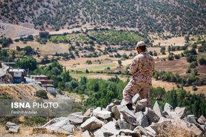 عکس/ محل حادثه تروریستی مریوان