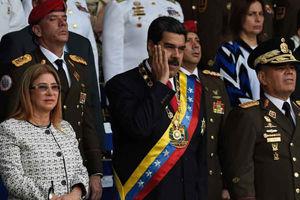فیلم/سخنراني رئیسجمهور ونزوئلا پس از ترور نافرجام