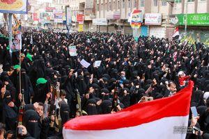 تظاهرات هزاران زن در صنعاء