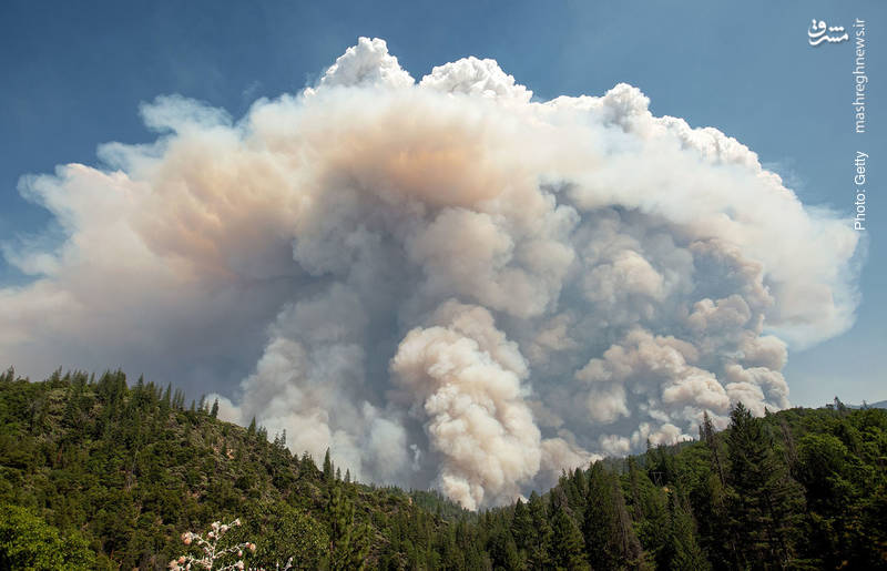 تداوم آتشسوزیها در کالیفرنیا