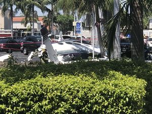 عکس/ سقوط مرگبار یک هواپیما در کالیفرنیا