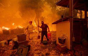 عکس/ افزایش قربانیان آتشسوزی در کالیفرنیا