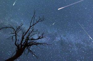 زمان رصد معروفترین بارش شهابی در آسمان