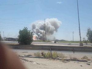 انفجار دومین انبار مهمات در عراق در یک روز +عکس