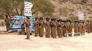 تمرینهای نظامی نیروهای انصارالله یمن در استان البیضاء