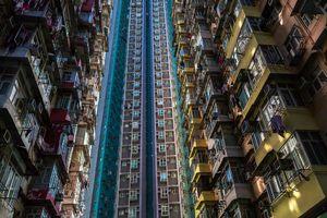 عکس/ آسمان خراشهای «هنگ کنگ»