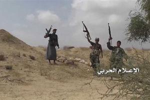 فیلم/ لحظه به اسارت گرفتن مزدور سعودی در یمن!
