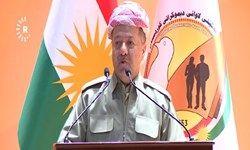 مسعود بارزانی: خواستار تحکیم روابط با بغداد هستیم