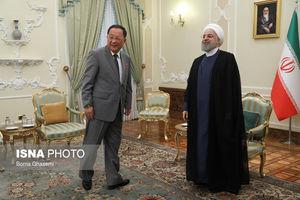 عکس/ دیدار وزیر خارجه کره شمالی با روحانی