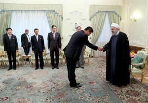 روحانی با وزیرامور خارجه کره شمالی دیدار کرد +عکس