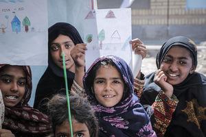 هلال احمر _ مناطق محروم سیستان و بلوچستان