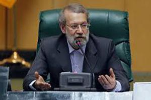 فیلم/ واکنش لاریجانی به ادعای تقاضای پول توسط نماینده!