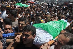 فیلم/ تشییع دو شهید حمله هوایی صهیونیست ها در غزه