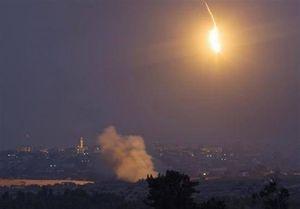 حمله موشکی رژیم صهیونیستی به یک موضع مقاومت در غزه