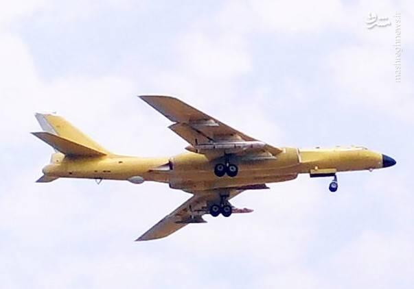 بمب افکن چینی H-6 مجهز به موشک های CJ-10