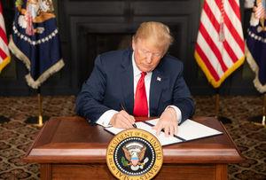 امضای ترامپ پای تحریمها - نمایه