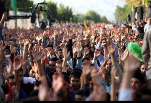 عکس/ مراسم سالگرد شهید حججی در نجف آباد
