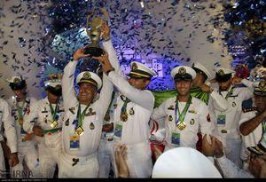 عکس/ قهرمانی غواصان ایران در مسابقات نظامیان جهان