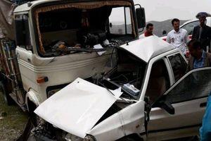 مرگ ۲ کودک در شاخبهشاخ شدن پراید با کامیون
