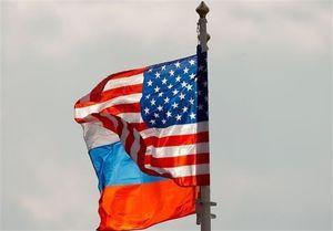 پرچم روسیه آمریکا
