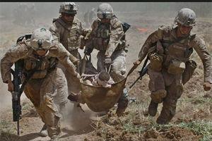 فیلم/ به آتش کشیدن پایگاه آمریکا توسط طالبان!