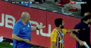 حمله هواداران صهیونیستی به بازیکن اردنی
