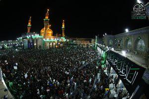 عزاداری شب شهادت جوادالائمه (ع)کاظمین