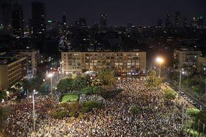 عکس/ تظاهرات علیه قانون قومیت در تلآویو