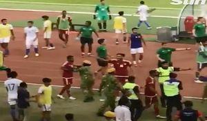 فیلم/ درگیری شدید امیدهای امارات و مالزی در بازی دوستانه!