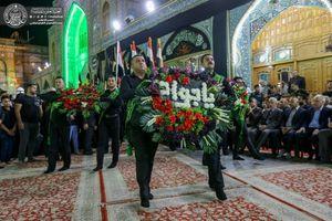عکس/ مراسم عزاداری شهادت امام جواد(ع) در حرم علوی