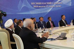 عکس/ حضور روحانی در اجلاس قزاقستان