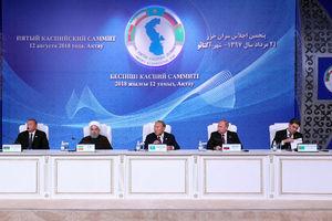 امضای کنوانسیون رژیم حقوقی دریای خزر در قزاقستان