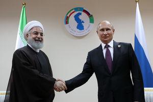 عکس/ دیدار پوتین و روحانی در قزاقستان