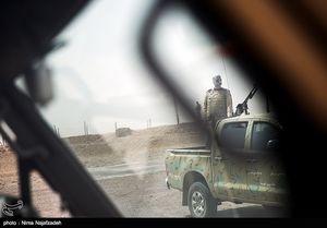 """عکس/ در مرز """"تایباد"""" چه میگذرد؟"""