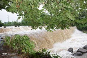 عکس/ طغیان مرگبار رودخانههای آستارا