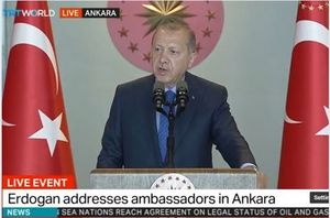 اردوغان: برای جنگ واقعی آماده هستیم