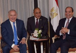 السیسی و نتانیاهو