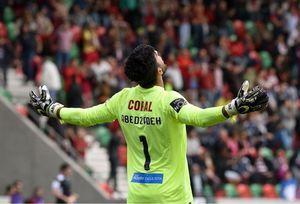 فیلم/ واکنشهای امیر عابدزاده در هفته اول لیگ پرتغال