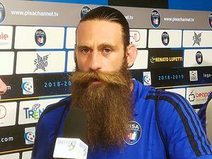 عکس/ شمایل عجیب فوتبالیست ایتالیایی
