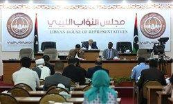 درگیری مقابل پارلمان لیبی و زخمی شدن یک نماینده