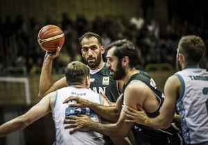 ستاره سینمای ایران در اردوی تیم ملی بسکتبال + عکس