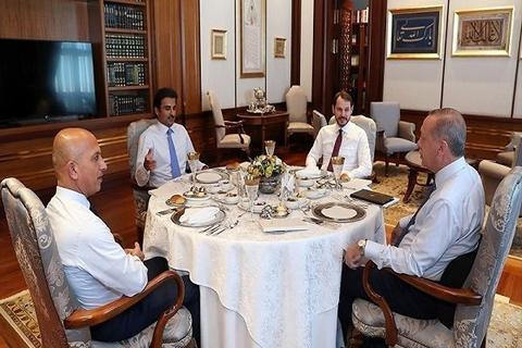 سرمایه گذاری ۱۵ میلیارد دلاری قطر در ترکیه