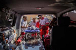 فیلم/ جزئیات تصادف اتوبوس زائران عراقی