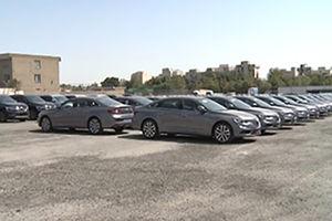 فیلم/خودروهای لوکس احتکارشده در حاشیه تهران!