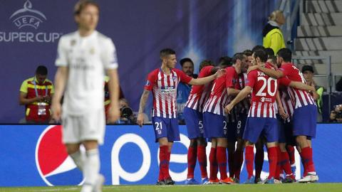اتلتیکو مادرید قهرمان سوپرجام اروپا شد/ اولین ناکامی رئال بی رونالدو +عکس