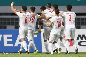 دیدار تیمهای امید ایران و کره شمالی