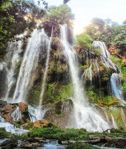 عکس/ آبشاری زیبا در چهارمحال و بختیاری