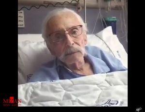فیلم/ صحبتهای جمشیدمشایخی در پی درگذشت عزتالله انتظامی
