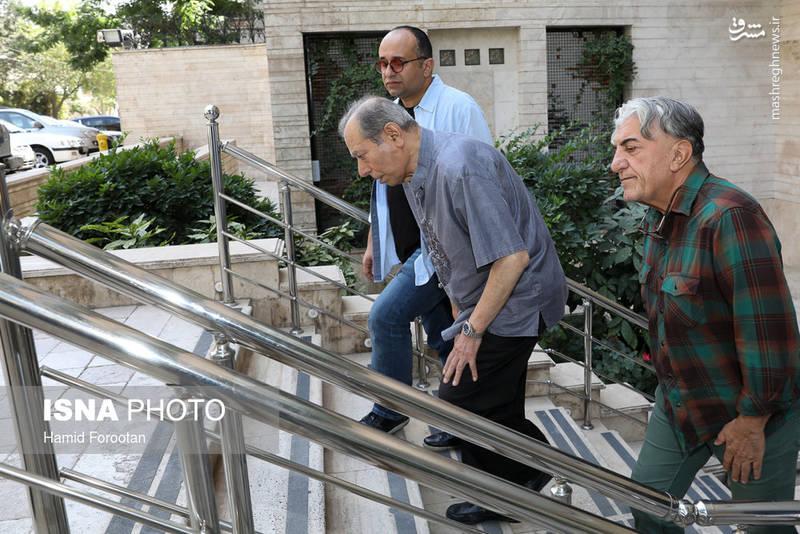 حضور سینماگران در خانه عزتالله انتظامی