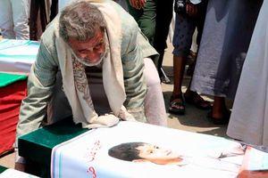 بمب آمریکایی سعودیها که دانشآموزان یمنی را کشت